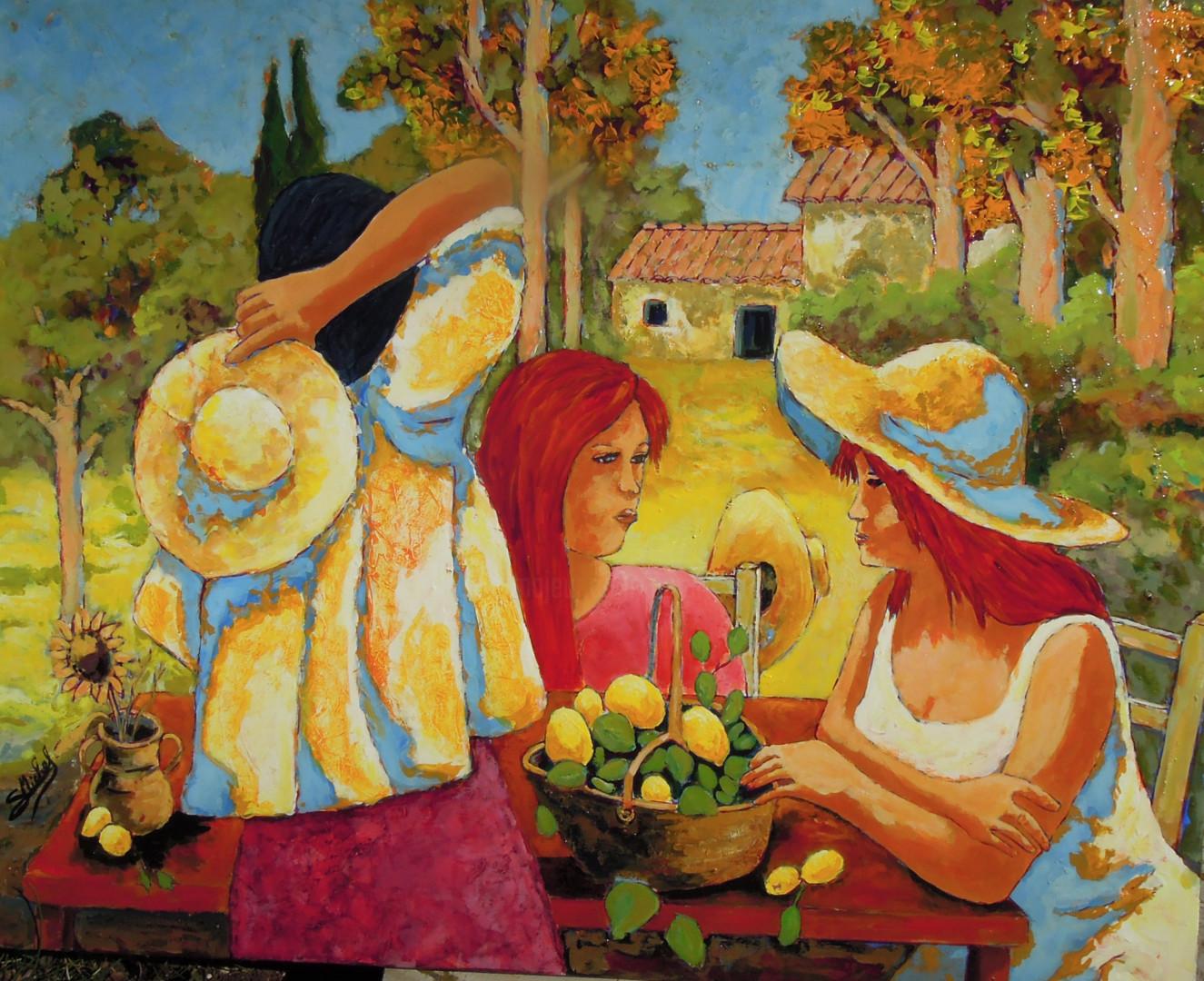 Gérard Michel - préparation de la citronnade