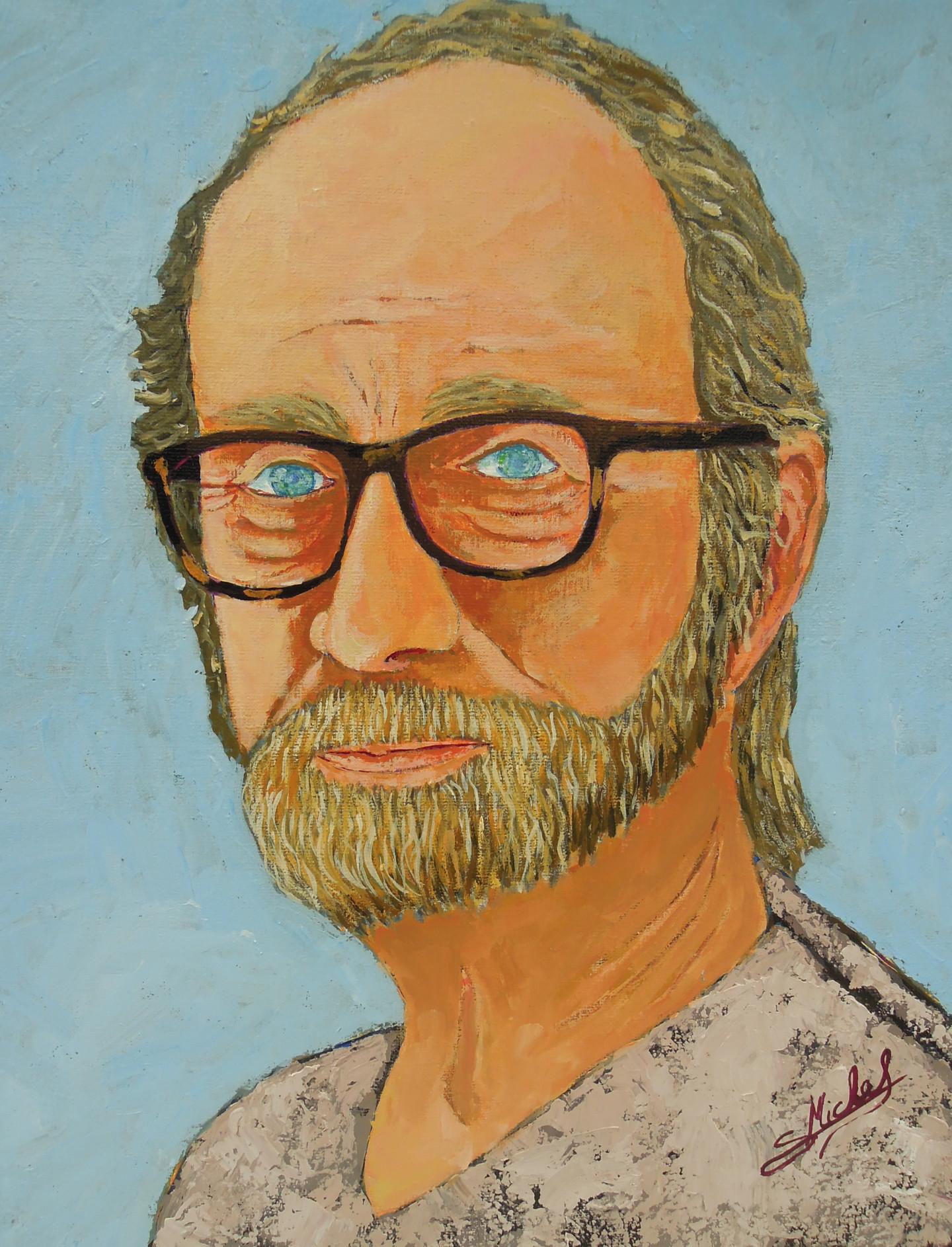 Gérard Michel - autoportrait