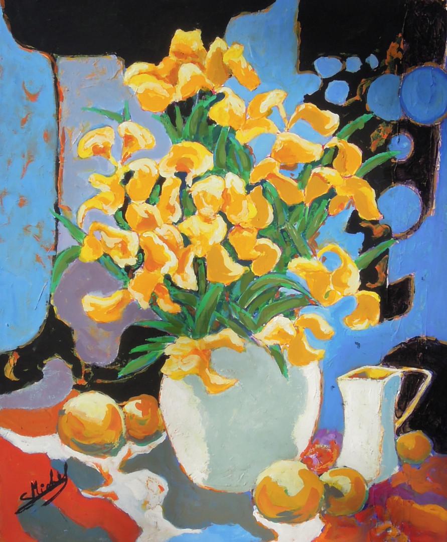 Gérard Michel - iris jaunes