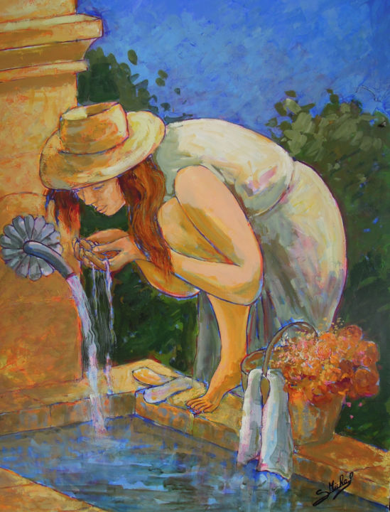 Gérard MICHEL - A la claire fontaine