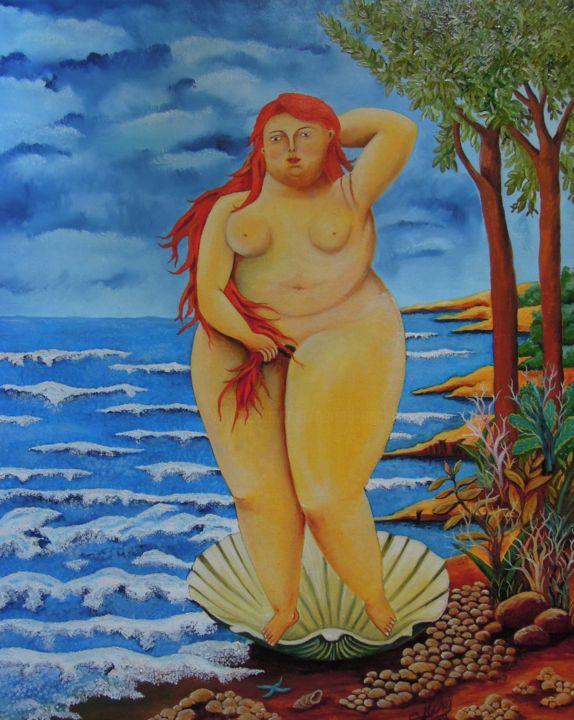 Gérard MICHEL - La naissance de Vénus