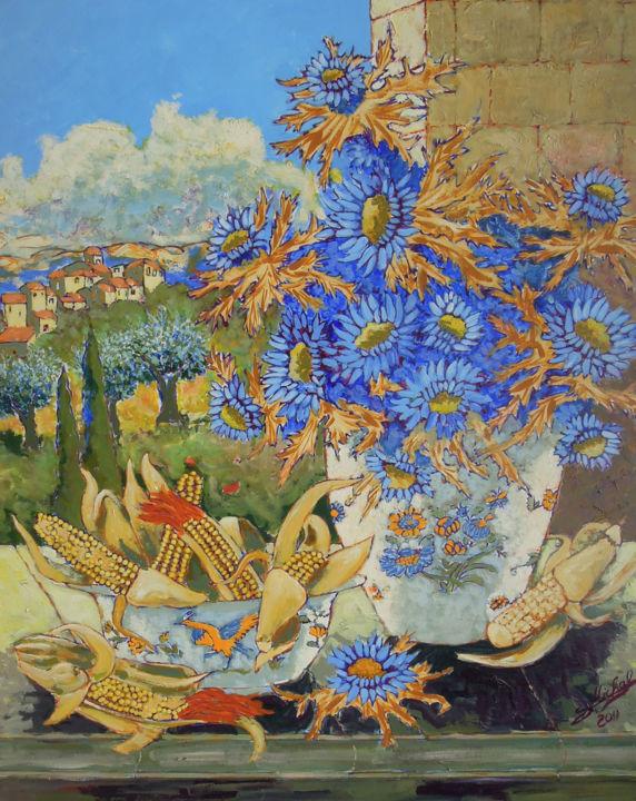 Gérard MICHEL - Chardon et maïs