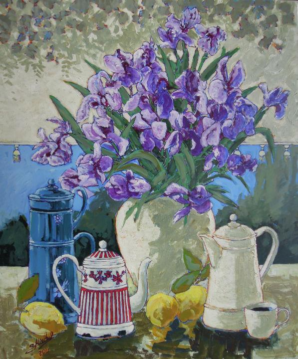 Gérard MICHEL - composition avec iris