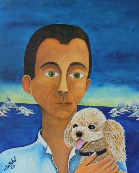 Gérard MICHEL - portrait-avec-chien