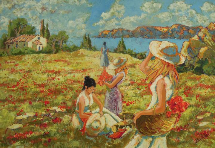 Gérard MICHEL - Les filles du sud