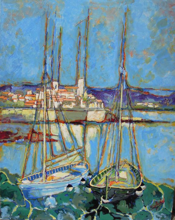 Gérard MICHEL - Les remparts d'Antibes