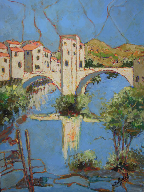 Gérard MICHEL - vieux-pont de Sospel